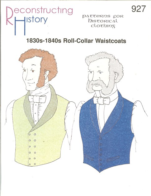 Image for RH927: 1830S-1840S ROLL-COLLAR WAISTCOATS