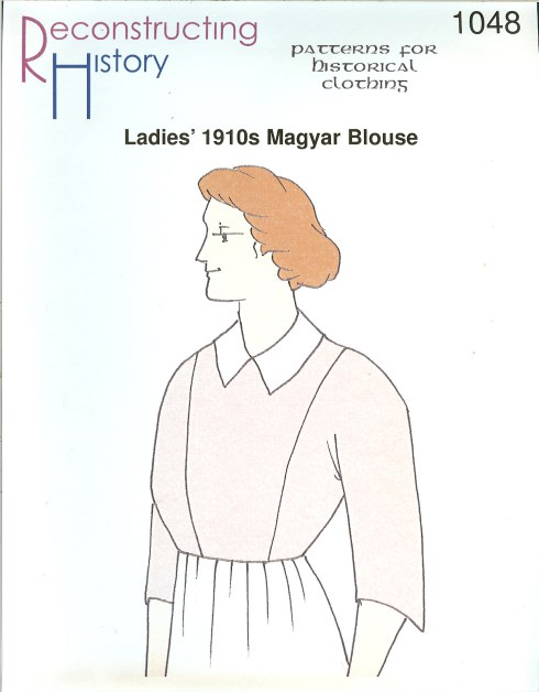 Image for RH1048: LADIES' 1910S MAGYAR BLOUSE