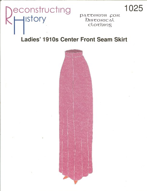Image for RH1025: LADIES' 1910S CENTRE FRONT SEAM SKIRT