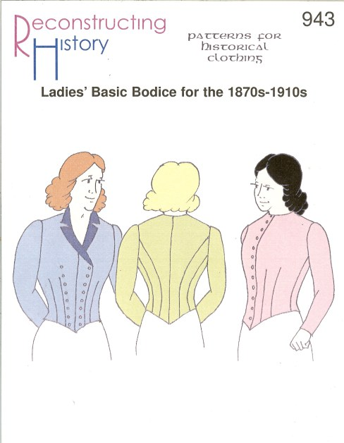 Image for RH943: LADIES' BASIC BODICE FOR THE 1870S-1910S