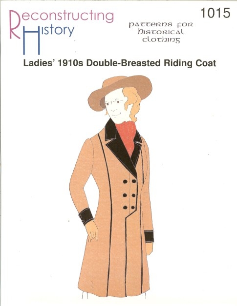 Image for RH1015: LADIES' 1910S DOUBLE-BREASTED RIDING COAT