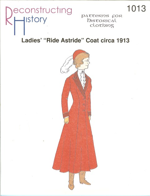 Image for RH1013: LADIES' 'RIDE ASTRIDE' COAT CIRCA 1913