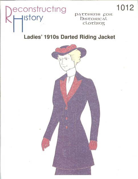 Image for RH1012: LADIES' 1910S DARTED RIDING JACKET