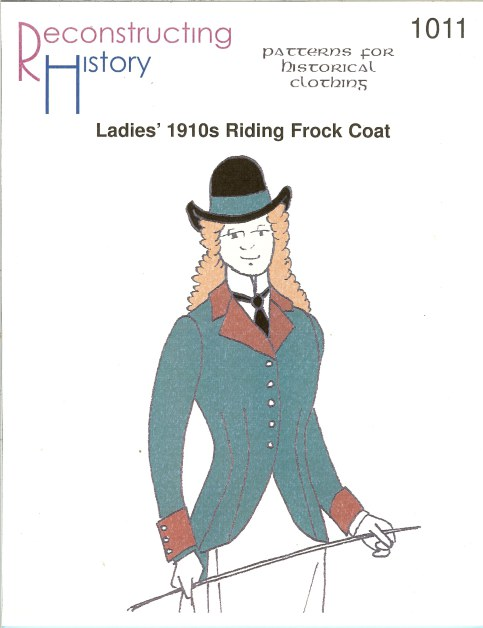 Image for RH1011: LADIES' 1910S RIDING FROCK COAT