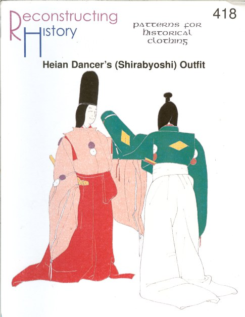 Image for RH418: HEIAN DANCER'S (SHIRABYOSHI) OUTFIT