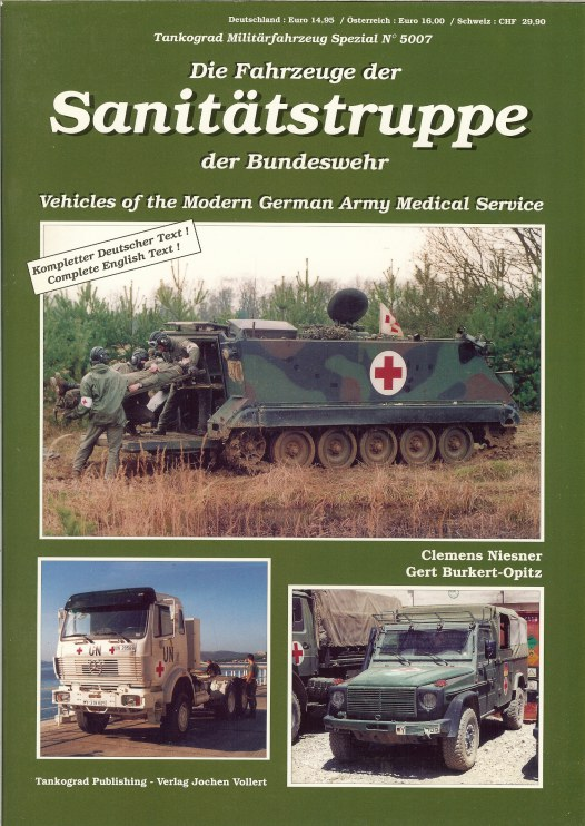 Image for VEHICLES OF THE MODERN GERMAN ARMY MEDICAL SERVICE