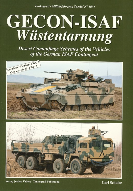 Image for GECON-ISAF WUSTENTARNUNG: DESERT CAMOUFLAGE SCHEMES OF THE VEHICLES OF THE GERMAN ISAF CONTINGENT
