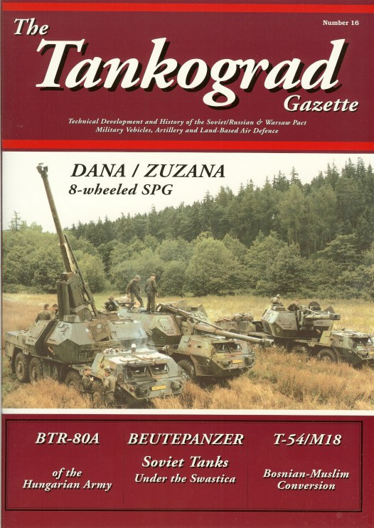Image for THE TANKOGRAD GAZETTE: NUMBER 16