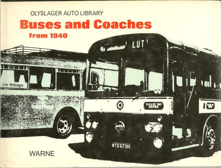 Image for BUSES AND COACHES FROM 1940