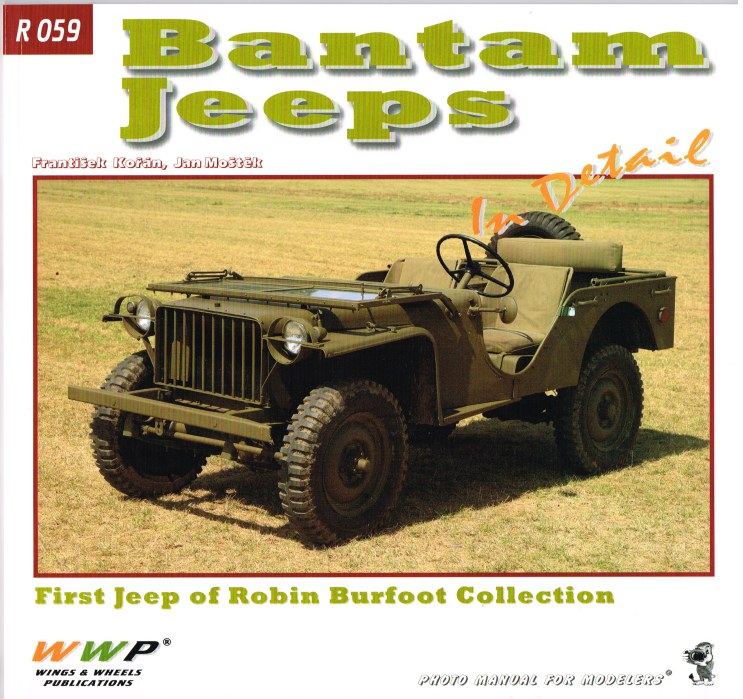 Image for BANTAM JEEPS IN DETAIL
