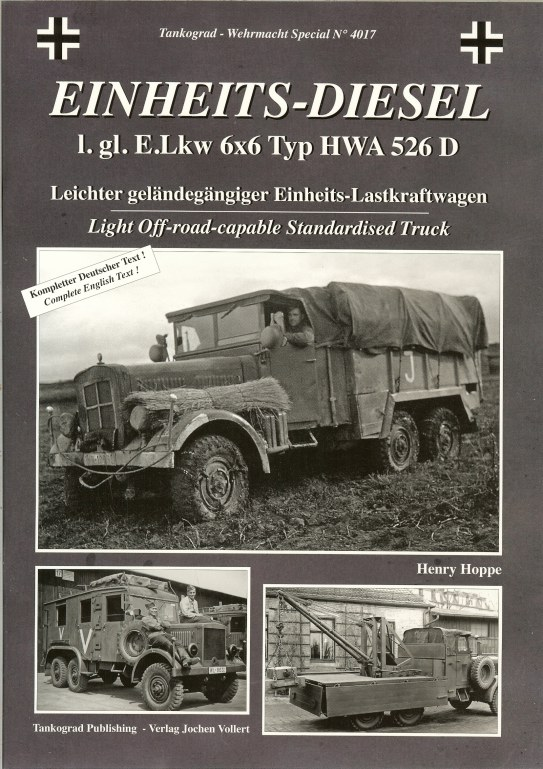 Image for EINHEITS-DIESEL L.GL.E.LKW 6X6 TYP HWA 526D : LIGHT OFF-ROAD STANDARDISED TRUCK