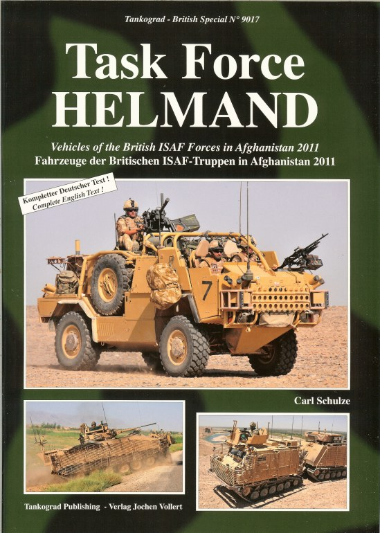 Image for TASK FORCE HELMAND: VEHICLES OF THE BRITISH ISAF FORCES IN AFGHANISTAN 2011