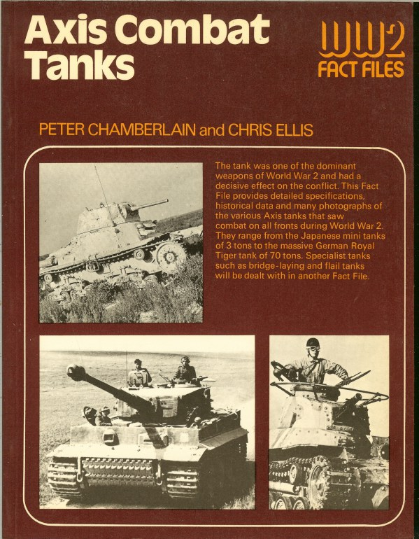 Image for WW2 FACT FILES: AXIS COMBAT TANKS