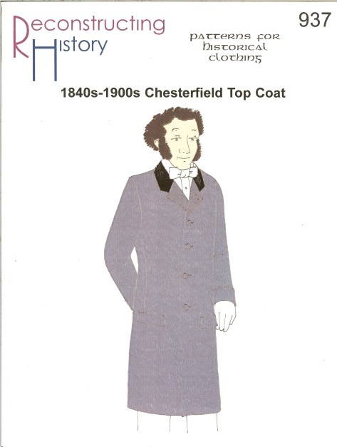 Image for RH937: 1840S-1900S CHESTERFIELD TOP COAT