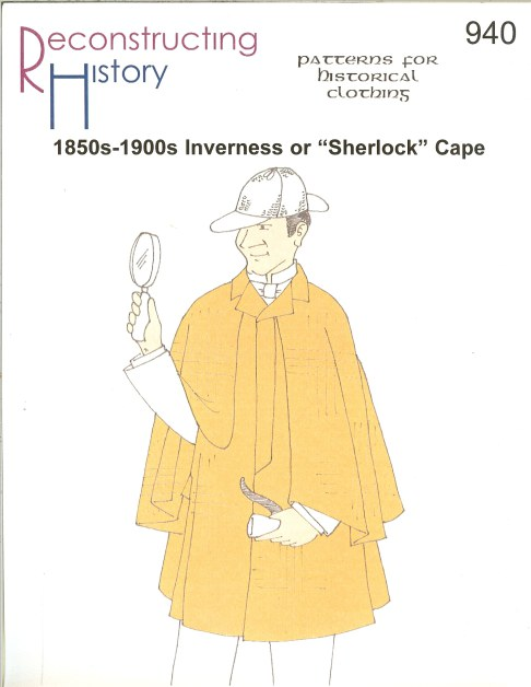 Image for RH940: 1850S-1900S INVERNESS OR 'SHERLOCK' CAPE