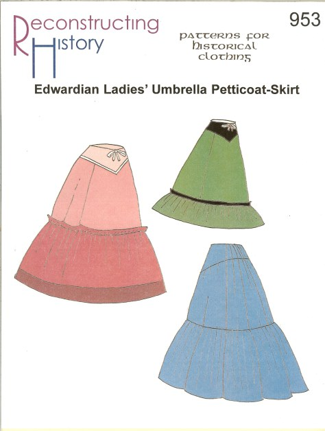 Image for RH953: EDWARDIAN LADIES' UMBRELLA PETTICOAT SKIRT
