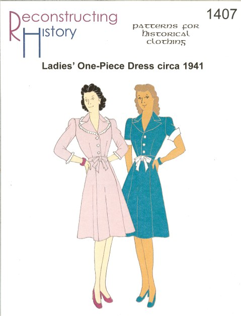 Image for RH1407: LADIES' ONE-PIECE DRESS CIRCA 1941