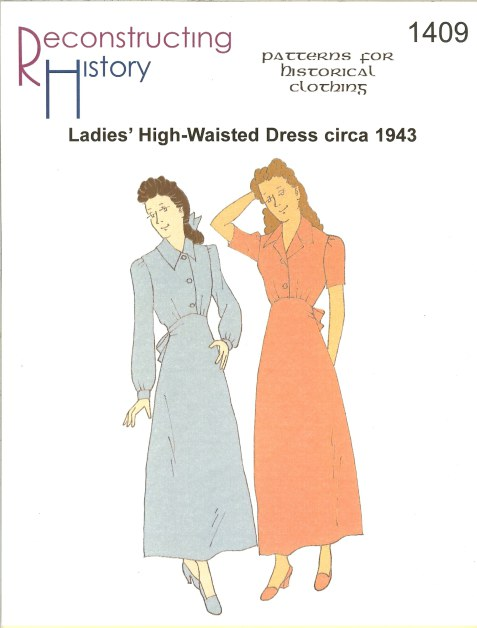 Image for RH1409: LADIES' HIGH-WAISTED DRESS CIRCA 1943