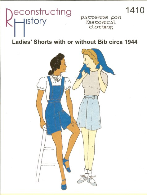 Image for RH1410: LADIES' SHORTS WITH OR WITHOUT BIB CIRCA 1944