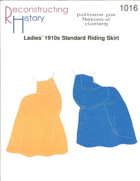 Image for RH1016: LADIES' 1910S STANDARD RIDING SKIRT