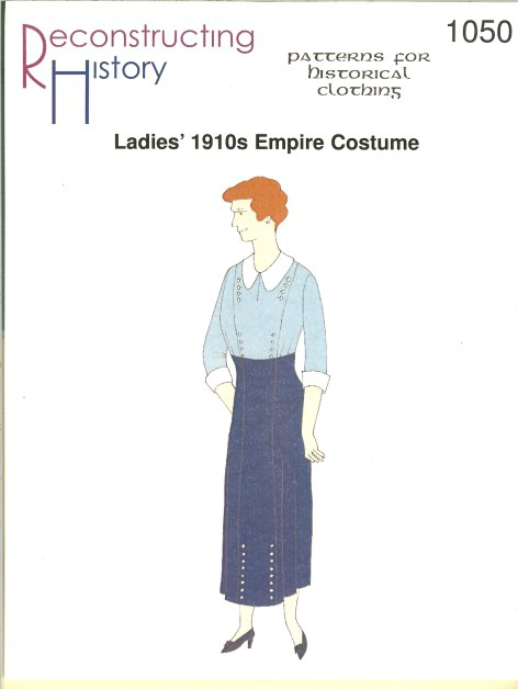 Image for RH1050: LADIES' 1910S EMPIRE COSTUME