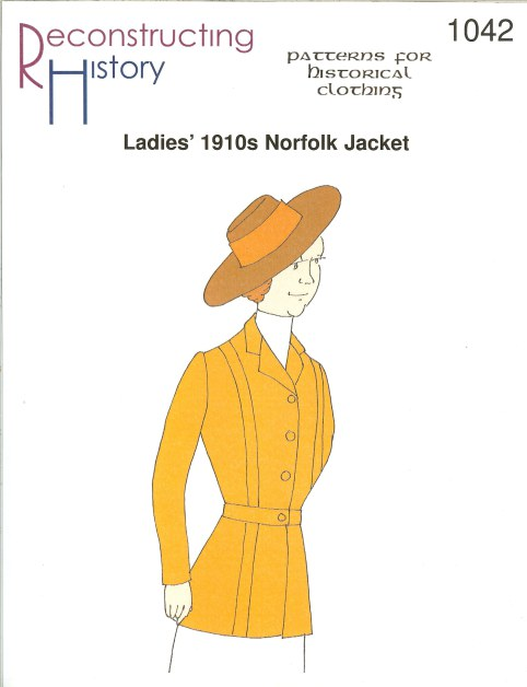 Image for RH1042: LADIES' 1910S NORFOLK JACKET