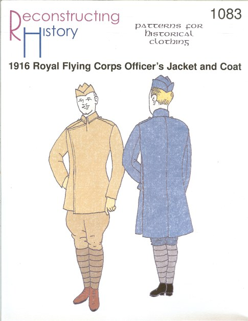 Image for RH1083: 1916 ROYAL FLYING CORPS OFFICER'S JACKET AND COAT