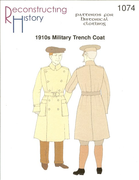 Image for RH1074: 1910S MILITARY TRENCH COAT