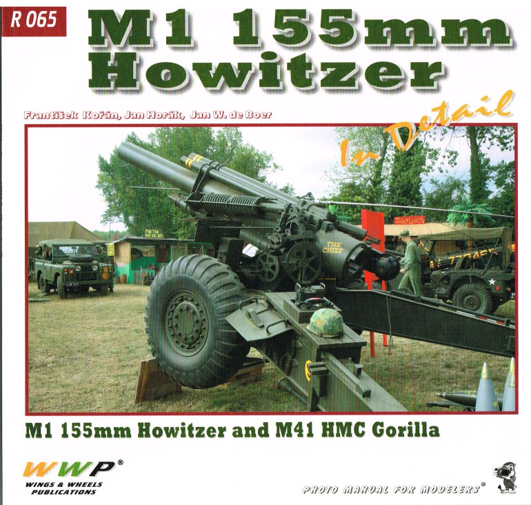 Image for M1 155MM HOWITZER IN DETAIL