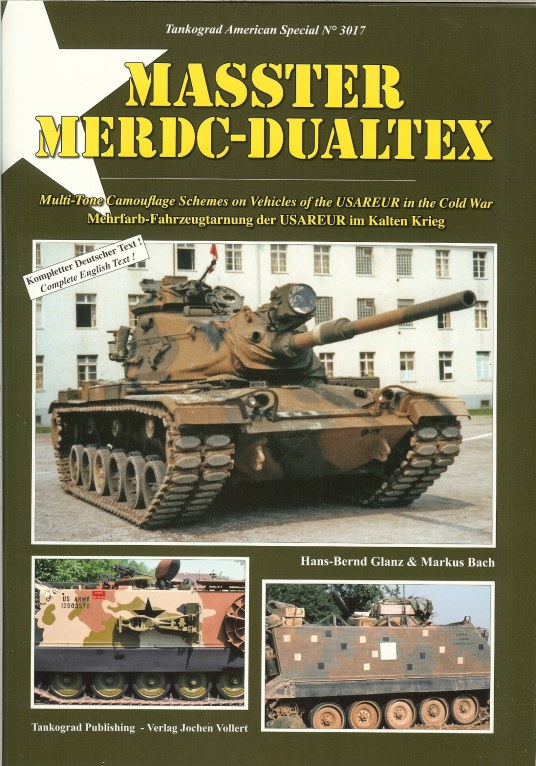 Image for MASSTER MERDC-DUALTEX: MULTI-TONE CAMOUFLAGE SCHEMES ON VEHICLES OF THE USAREUR IN THE COLD WAR