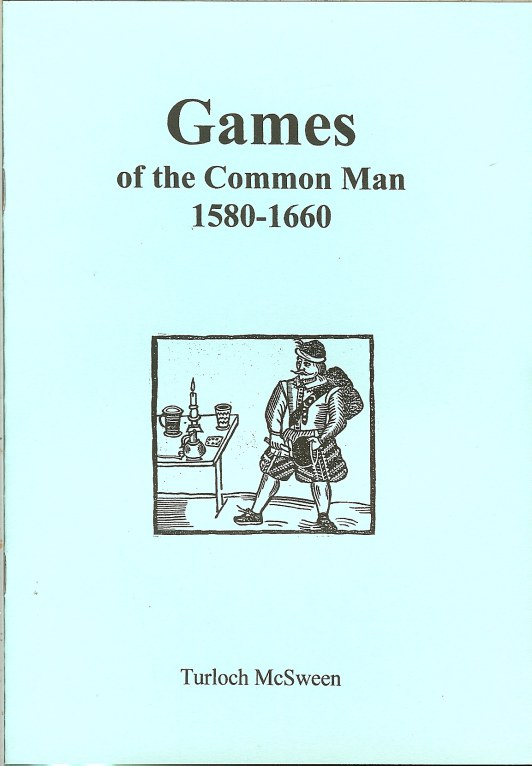 Image for GAMES OF THE COMMON MAN 1580-1660