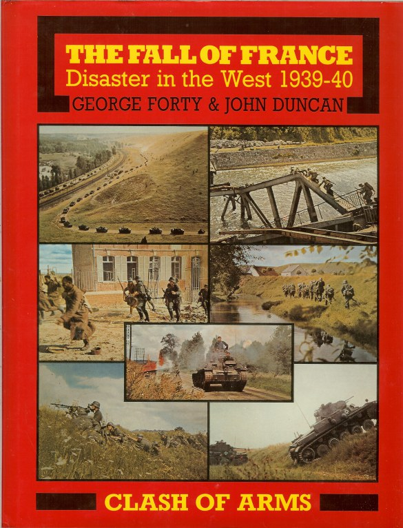 Image for THE FALL OF FRANCE : DISASTER IN THE WEST 1939-40