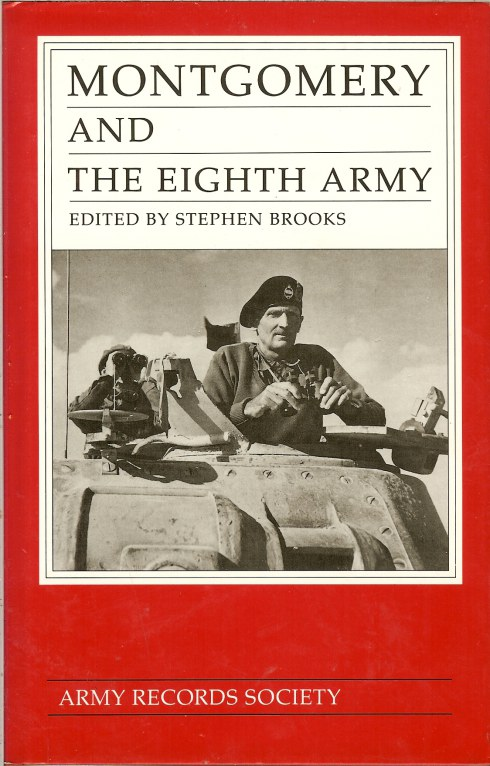 Image for MONTGOMERY AND THE EIGHTH ARMY