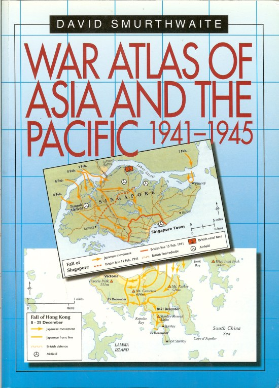 Image for WAR ATLAS OF ASIA AND THE PACIFIC 1941-1945