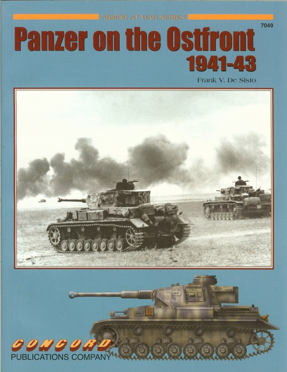 Image for PANZER ON THE OSTFRONT 1941-43