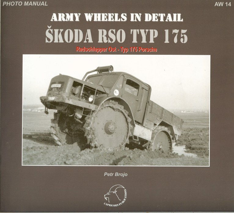 Image for ARMY WHEELS IN DETAIL: SKODA RSO TYP 175