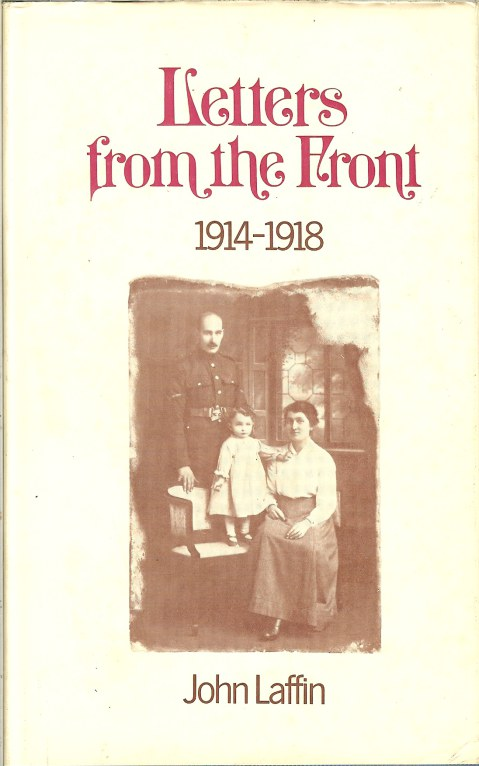 Image for LETTERS FROM THE FRONT 1914-1918