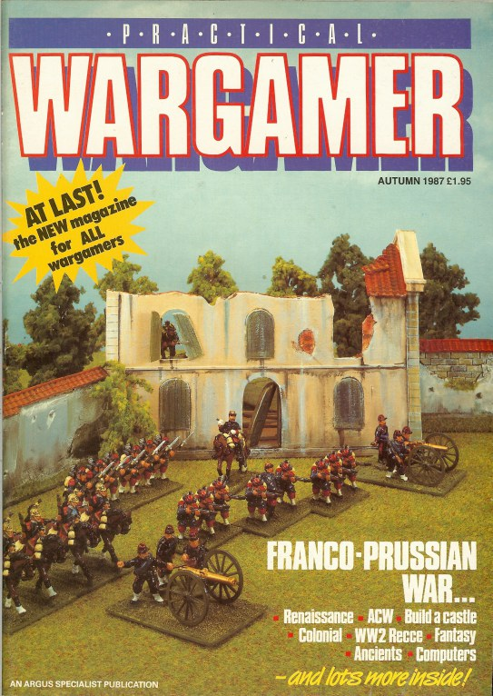 Image for PRACTICAL WARGAMER: AUTUMN 1987 (ISSUE 1)