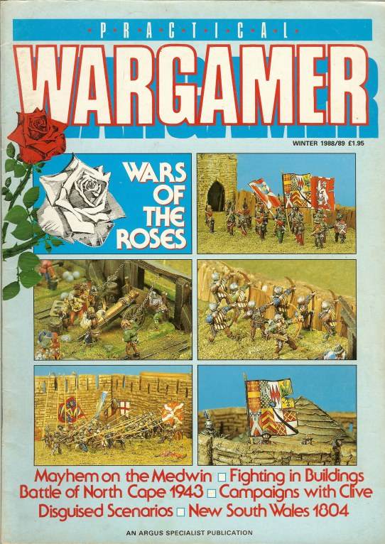 Image for PRACTICAL WARGAMER: WINTER 1988/89 (ISSUE 6)