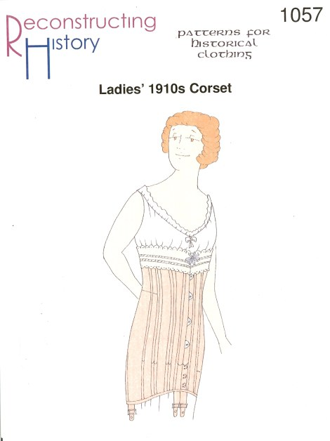 Image for RH1057: LADIES' 1910S CORSET