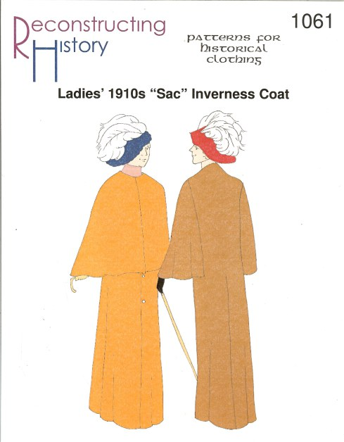 Image for RH1061: LADIES' 1910S 'SAC' INVERNESS CAPE