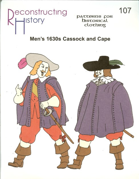 Image for RH107: MEN'S 1630S CASSOCK AND CAPE