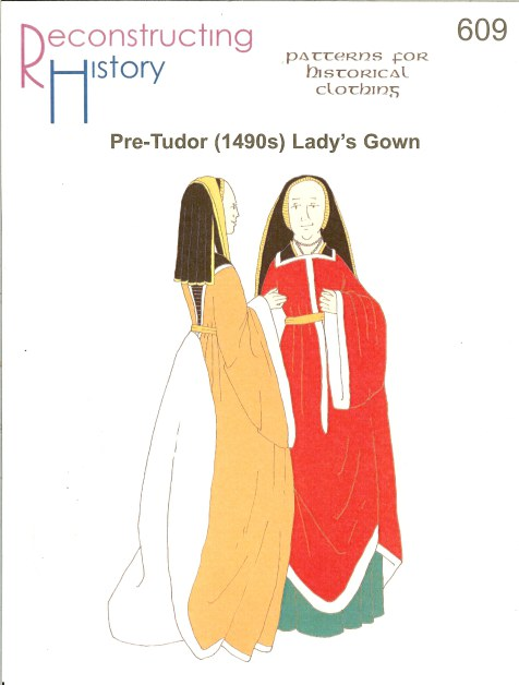 Image for RH609: 1490S PRE-TUDOR LADY'S GOWN AND KIRTLE