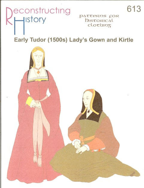 Image for RH613: 1500S  EARLY TUDOR LADY'S GOWN AND KIRTLE