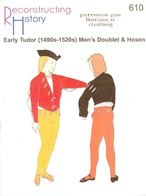 Image for RH610: EARLY TUDOR (1490S-1520S) MEN'S DOUBLET AND HOSEN