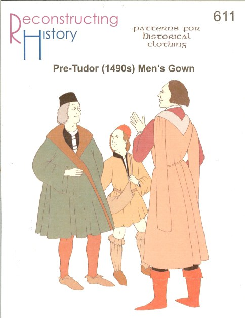 Image for RH611: PRE-TUDOR (1490S) MAN'S GOWN