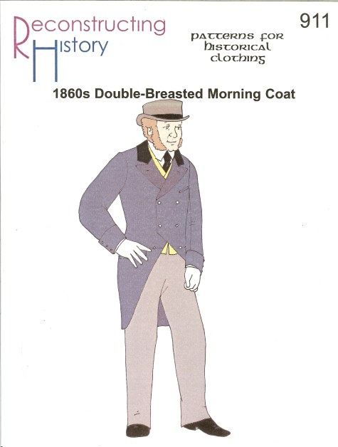 Image for RH911: MEN'S 1860S DOUBLE-BREASTED MORNING COAT