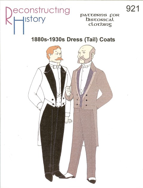 Image for RH921: MEN'S 1880S-1930S DRESS (TAIL) COAT