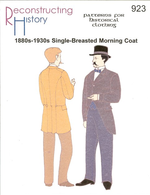 Image for RH923: MEN'S 1880S-1930S SINGLE-BREASTED MORNING COAT