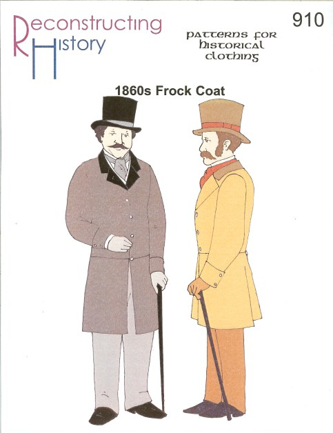 Image for RH910: MEN'S 1860S FROCK COAT